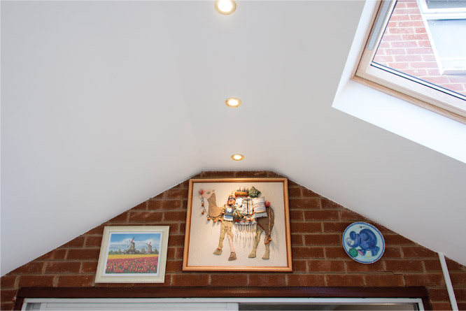 Plasterboard Interior Finish